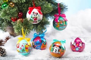 Christmas Baubles Hong Kong Disneyland Christmas 2018.
