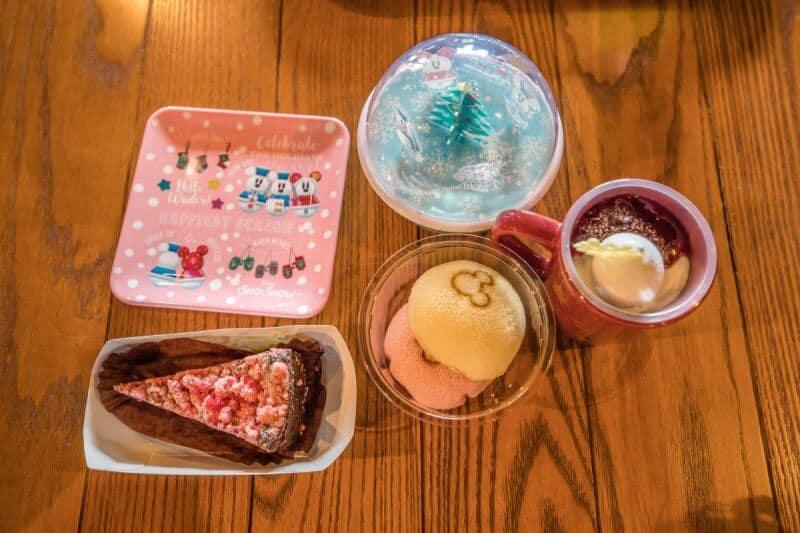 Christmas Desserts Tokyo Disney Resort