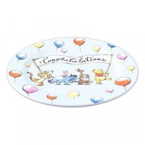 Congratulations Plate at Tokyo Disney Resort