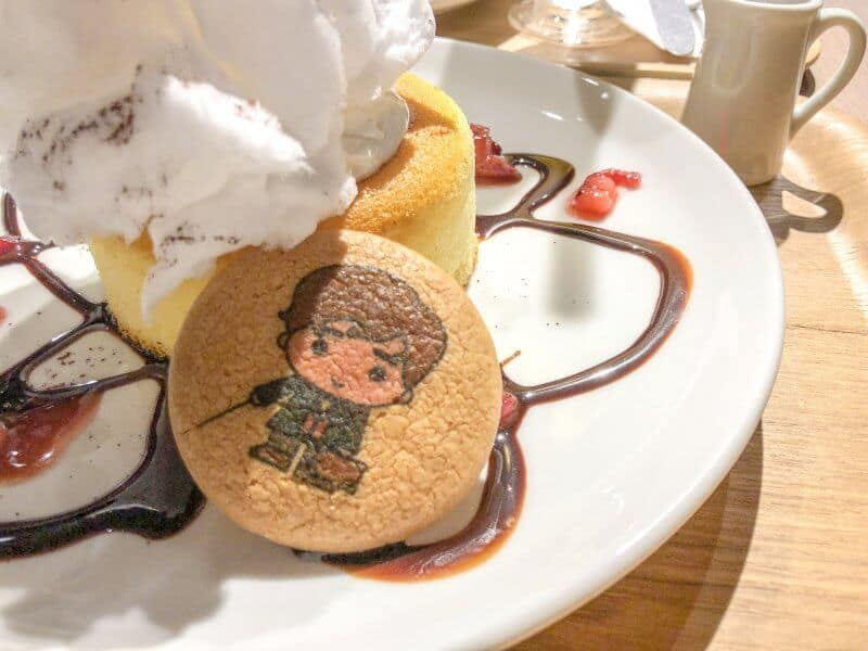 Cookie Harry Potter Cafe Tokyo