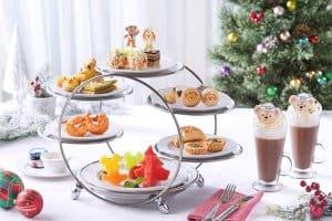 Corner Cafe Afternoon Tea Set Hong Kong Disneyland Christmas 2018