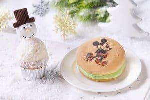 Cupcake and Custard Cake Hong Kong Disneyland Christmas 2018