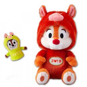 Dale Plush with Chip Puppet Tokyo Disney Resort Merchandise New Year 2019