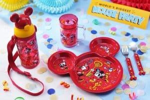 Dining Set Mouse Party Hong Kong Disneyland