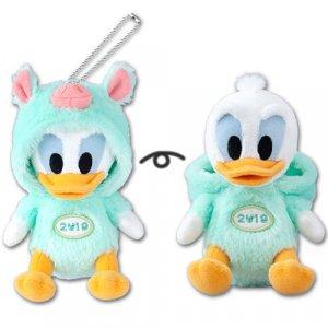Donald Plush Badge Tokyo Disney Resort Merchandise New Year 2019
