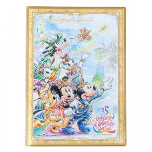Double Clear File Tokyo Disney Resort 35th Anniversary Grand Finale