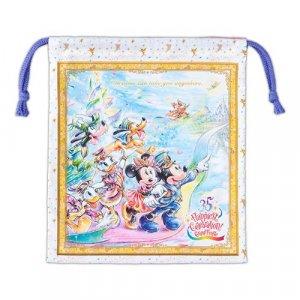 Drawstring Bag Tokyo Disney Resort 35th Anniversary Grand Finale