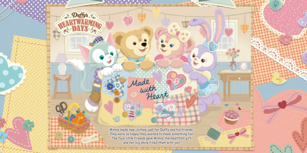 Duffy's Heartwarming Days 2019 Merchandise and Food