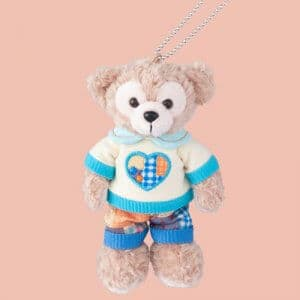 Duffy Plush Badge Duffy and Friends Heartwarming Days