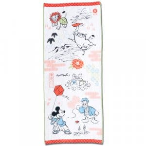 Face Towel Tokyo Disney Resort Merchandise New Year 2019