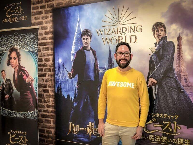 Front Cafe Harry Potter Cafe Tokyo