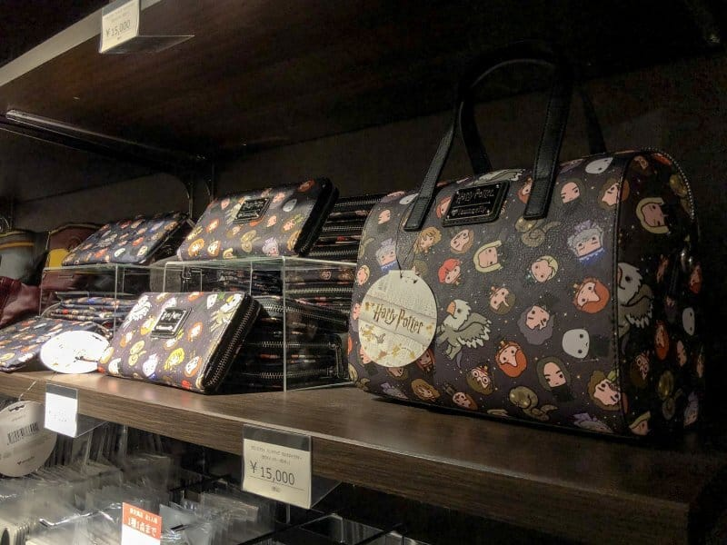 Harry Potter Cafe Tokyo Merchandise Bags