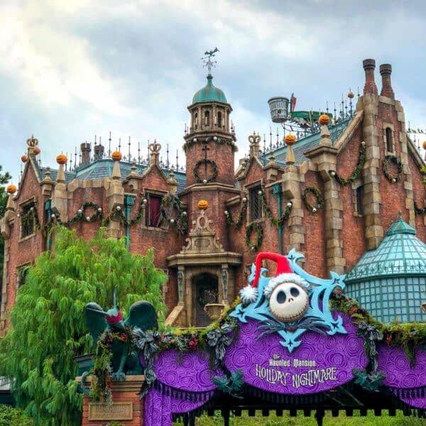 Haunted Mansion Holiday Nightmare Tokyo Disneyland