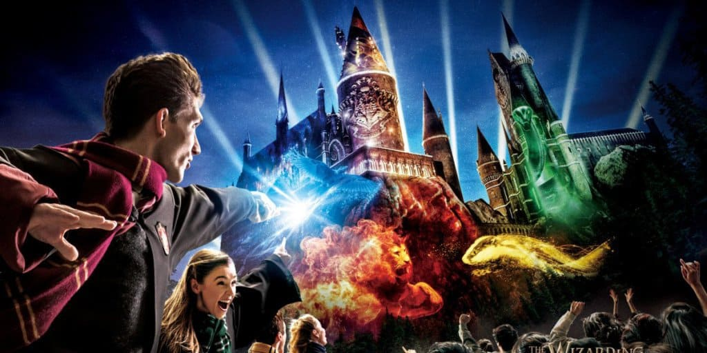 """Hogwarts Magical Celebration"" Projection Show Coming to Universal Studios Japan Spring 2019"