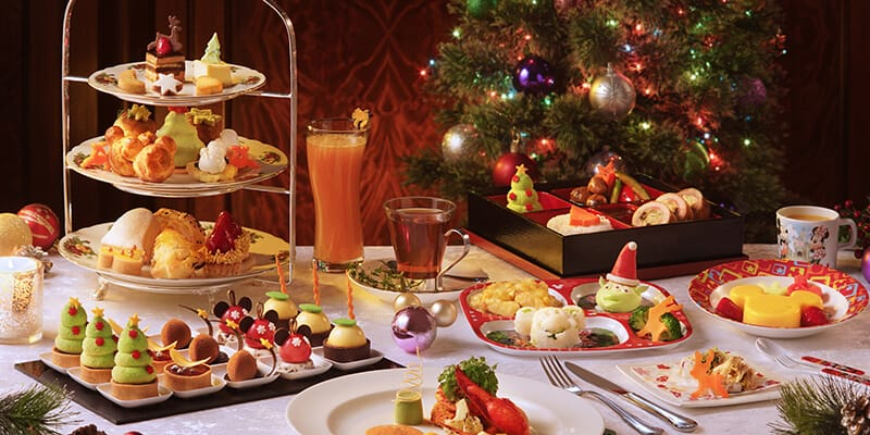 Hong Kong Disneyland Christmas 2018 Hotels Food & Drink