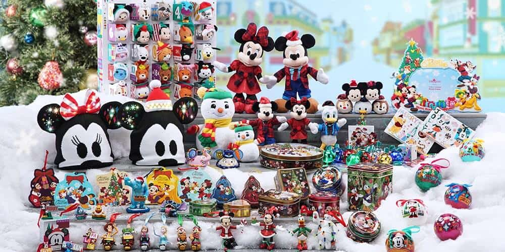 Hong Kong Disneyland Christmas Merchandise 2018 (Mickey, Duffy, & Tsum Tsum)