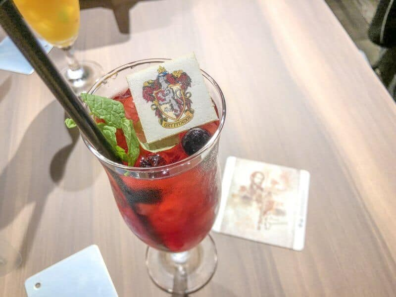 Ice Blended Tea Drink Harry Potter Cafe Tokyo