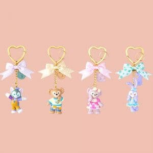 Keychain Set Duffy and Friends Heartwarming Days