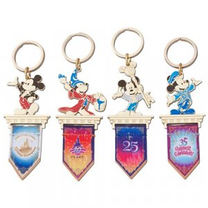 Keychain Set Tokyo Disney Resort 35th Anniversary Grand Finale