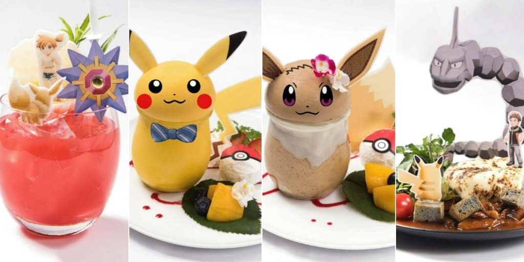 Let's Go Pikachu and Eevee Cafes Opening Across Japan