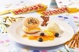 Mango Cream Cake Mouse Party Hong Kong Disneyland