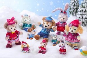 Medium and Large Plushes Duffy and Friends Fun Fun Winter 2018
