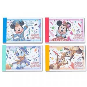 Memo Set Tokyo Disney Resort 35th Anniversary Grand Finale
