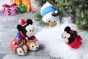 Mickey and Friends Tsum Tsum Hong Kong Disneyland Christmas 2018