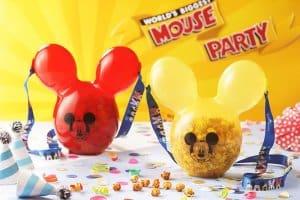Mickey Balloon Popcorn Bucket Mouse Party Hong Kong Disneyland