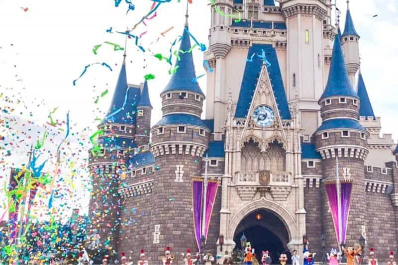 Mickey Mouse 90th Anniversary Tokyo Disneyland Ceremony Confetti