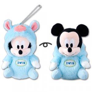 Mickey Plush Badge Tokyo Disney Resort Merchandise New Year 2019