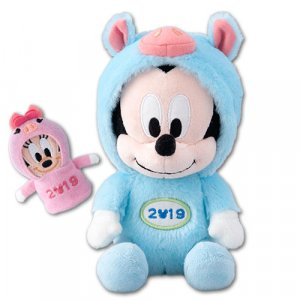 Mickey Plush with Minnie Puppet Tokyo Disney Resort Merchandise New Year 2019