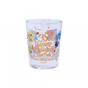 Mini Glass Tokyo Disney Resort 35th Anniversary Grand Finale
