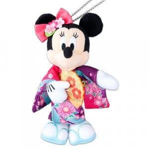 Minnie Plush Badge Tokyo Disney Resort Merchandise New Year 2019