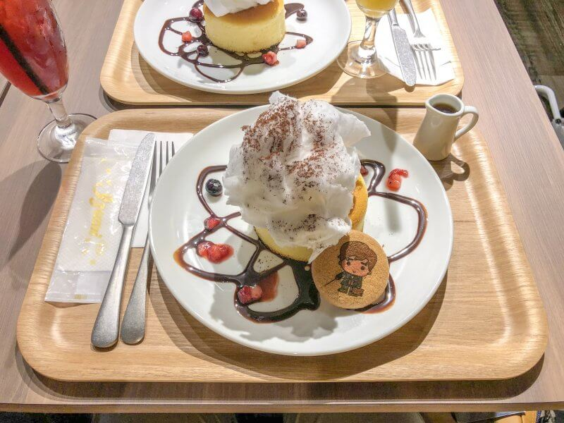 Newt Pancakes Harry Potter Cafe Tokyo