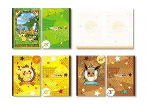 Notepads Let's Go Pokémon Cafe