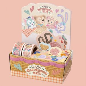 Notes and Tape Set Duffy and Friends Heartwarming Days