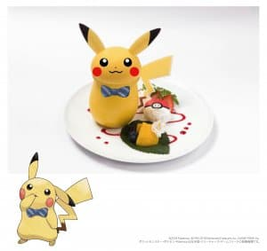 Pikachu Pudding Let's Go Pokémon Cafe