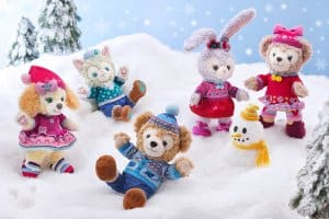 Plushes Duffy and Friends Fun Fun Winter 2018