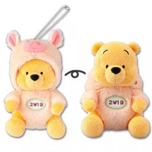 Pooh Plush Badge Tokyo Disney Resort Merchandise New Year 2019