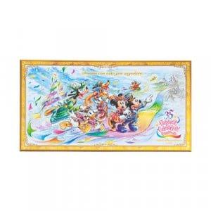 Postcard Tokyo Disney Resort 35th Anniversary Grand Finale