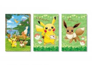 Postcard Set Let's Go Pokémon Cafe