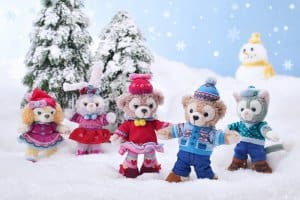 Small Plushes Duffy and Friends Fun Fun Winter 2018