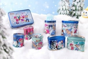 Souvenir Snacks Duffy and Friends Fun Fun Winter 2018