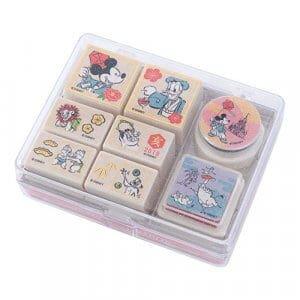 Stamp Set Tokyo Disney Resort Merchandise New Year 2019