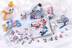 Stationery Duffy and Friends Fun Fun Winter 2018
