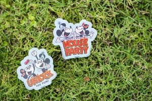 Stickers Mouse Party Hong Kong Disneyland