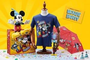 T-shirt, Umbrella and Bag Mouse Party Hong Kong Disneyland
