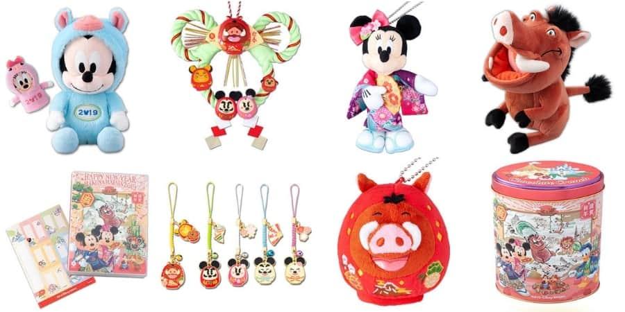Tokyo Disney Resort New Year's Merchandise 2019