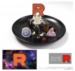 Team Rocket Dessert Let's Go Pokémon Cafe